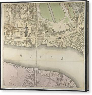 Westminster Canvas Print by British Library