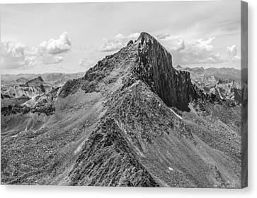 Wetterhorn Peak Canvas Print by Aaron Spong