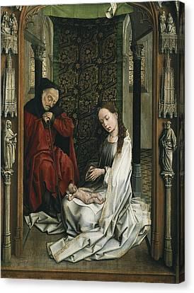 Betrothed Canvas Print - Weyden, Rogier Van Der  1400-1464 by Everett