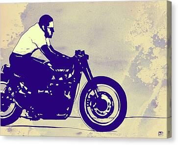 Wheels Canvas Print by Giuseppe Cristiano