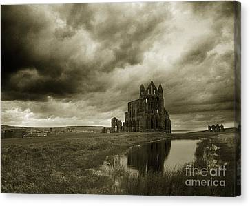 Whitby Abbey England Canvas Print
