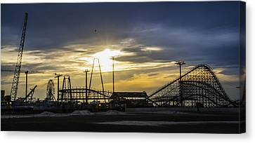 Wildwood In The Morning Canvas Print