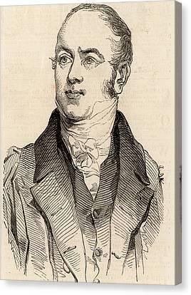 William Buckland Canvas Print