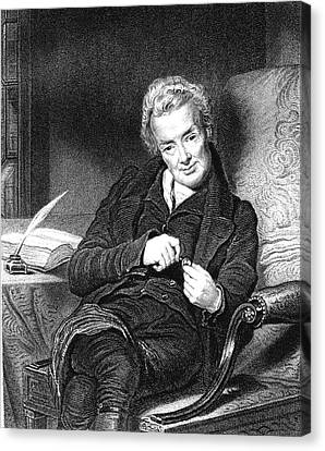 Abolitionist Canvas Print - William Wilberforce by Collection Abecasis