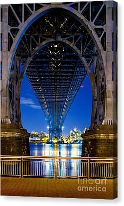 Williamsburg Bridge 3 Canvas Print by Az Jackson