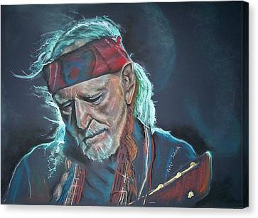 Willie Canvas Print by Peter Suhocke