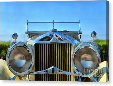 1930 Willys Knight Canvas Print by George Atsametakis