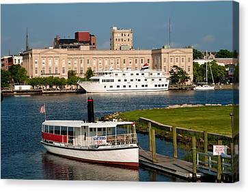 Wilmington Water Front Canvas Print by Denis Lemay