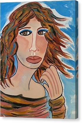 Windblown Canvas Print by Nikki Dalton