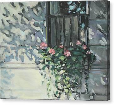 Window On Beacon Hill Canvas Print