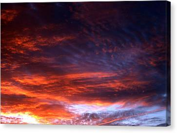 Windows Of Heaven Canvas Print by Julia  Walsh