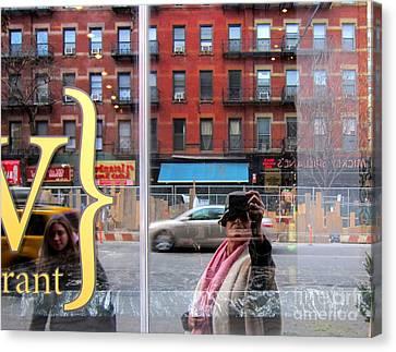Windows  Canvas Print by Sue Rosen