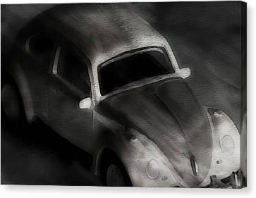 Windy Night Canvas Print by Jeff  Gettis