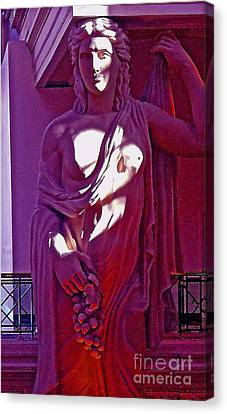 Wine Goddess Canvas Print by Brad Gravelle