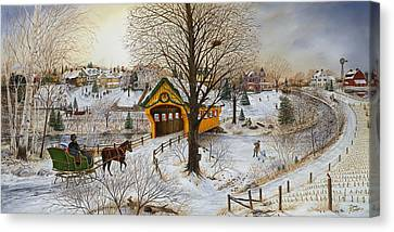 Winter Memories Canvas Print by Doug Kreuger