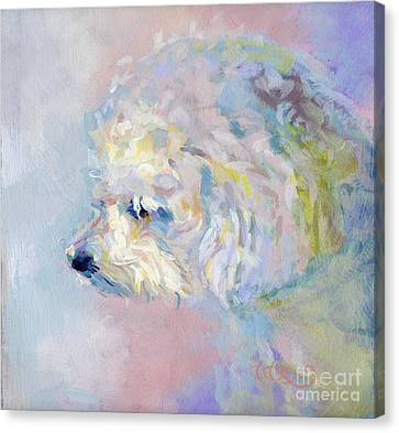 Winter Mickee Canvas Print by Kimberly Santini