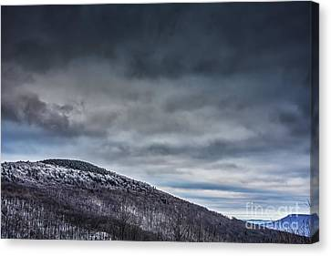 Winter View Highland Scenic Highway Canvas Print