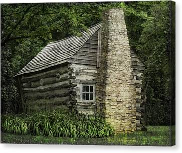 Wisconsin Homestead  Canvas Print