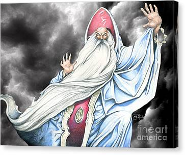 Wizard Canvas Print by Bill Richards