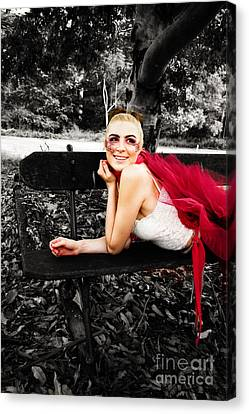 Ballet Dancers Canvas Print - Woman In Tutu by Jorgo Photography - Wall Art Gallery