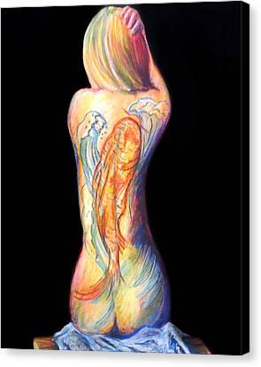 The Koi Tattoo Canvas Print