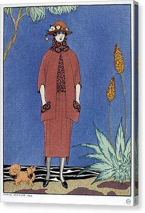 Women's Fashion, 1921 Canvas Print by Granger