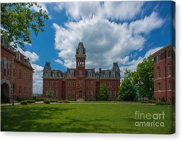 Woodburn Hall Summer Paintography Canvas Print by Dan Friend