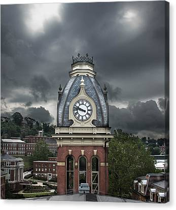 Woodburn Stands Alone Canvas Print by Jacki Marino