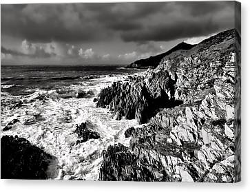 Woolacombe To Morte Point Canvas Print by Pete Hemington