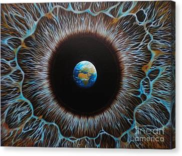 World Vision Canvas Print by Paula Ludovino