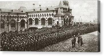 Vladivostok Canvas Print - World War I Vladivostok by Granger