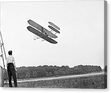 Wright Military Flyer Canvas Print