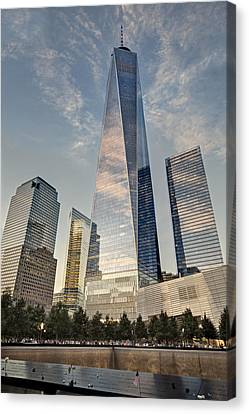 Wtc 911 Ground Zero Canvas Print
