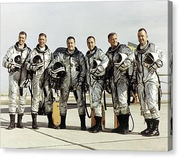 X-15 Aircraft Test Pilots Canvas Print