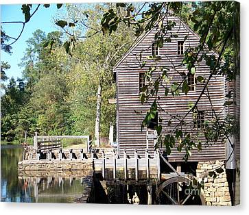 Yates Mill Canvas Print by Kevin Croitz