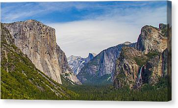 Yosemite Valley Canvas Print by Brian Williamson