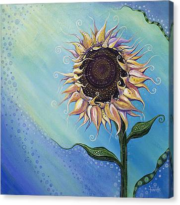 You Are My Sunshine Canvas Print by Tanielle Childers