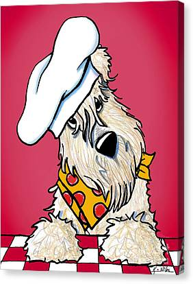 You Wanna Pizza Me? Canvas Print by Kim Niles