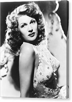 You Were Never Lovelier, Rita Hayworth Canvas Print by Everett
