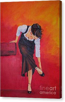 Zapatos I Canvas Print by Dagmar Helbig