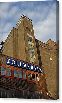 Zollverein Coking Plant Germany Canvas Print by David Davies