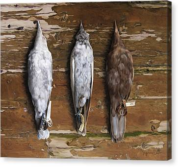 10. 3 Crows Canvas Print