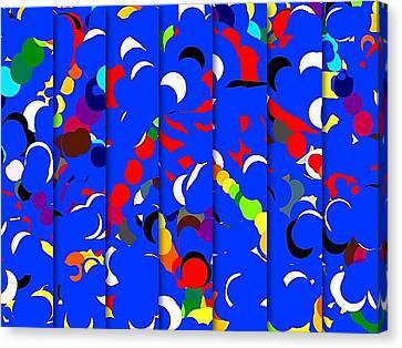 Abstract Canvas Print by HollyWood Creation By linda zanini