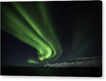 Aurora Borealis Canvas Print