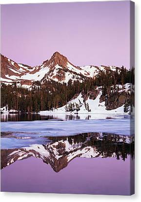 California, Sierra Nevada Mountains Canvas Print by Christopher Talbot Frank