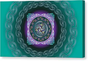 Celtic Pattern Canvas Print by Ireland Calling