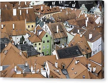 Cesky Krumlov. Canvas Print by Fernando Barozza