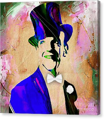Vintage Canvas Print - Fred Astaire Collection by Marvin Blaine