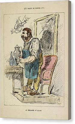 French Caricature Canvas Print by British Library