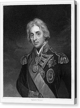 Horatio Nelson (1758-1805) Canvas Print by Granger